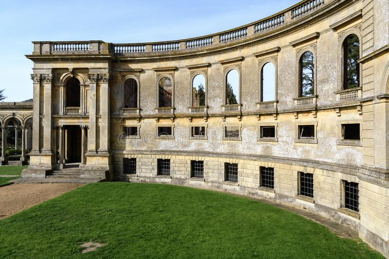 Witley Court and garden royalty free stock image