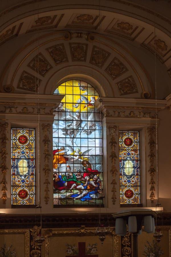 WITLEY-GERICHT, GROSSES WITLEY/WORCESTERSHIRE - 10. APRIL: St. Michae lizenzfreie stockbilder