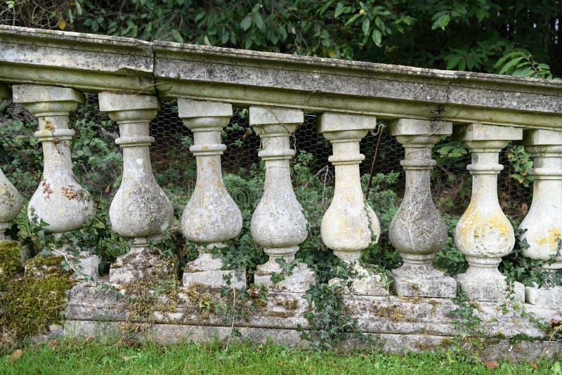 Witleyhof en tuin royalty-vrije stock afbeeldingen