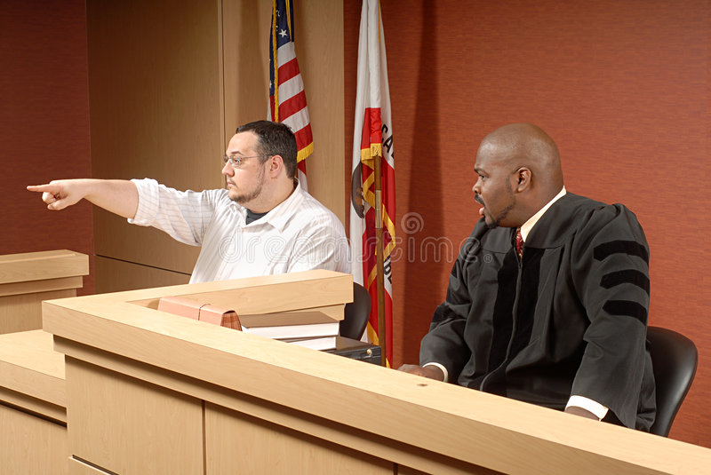 Download Witness at trial stock image. Image of court, diversity - 5193553