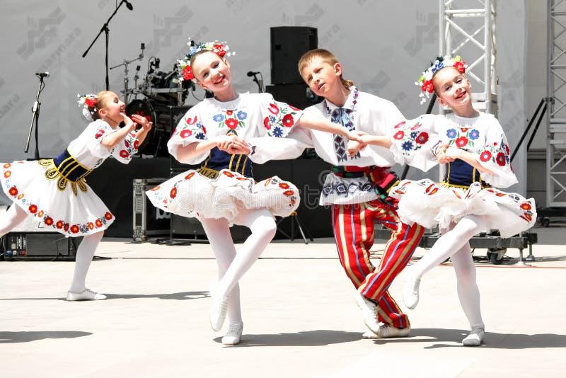 Witrussische kinderen royalty-vrije stock foto