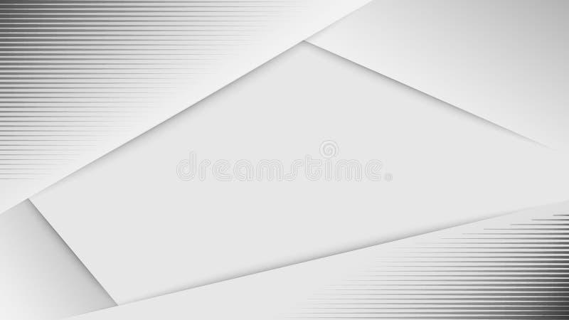 Witte Abstracte achtergrond Abstracte halftone gestippelde achtergrond Wit grijs vectorontwerp als achtergrond Decoratief Web vector illustratie