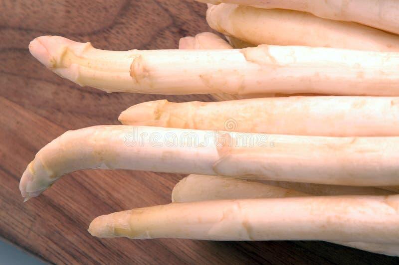 Witte asperge royalty-vrije stock fotografie