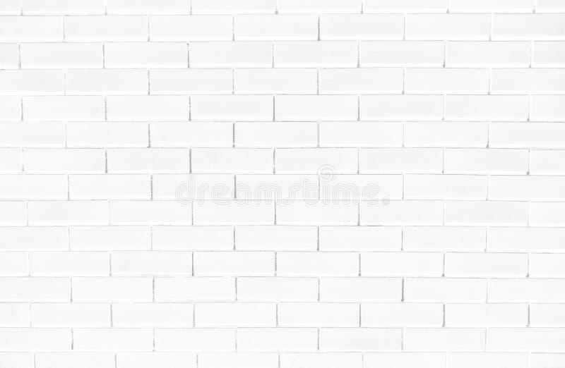 Witte bakstenen muur geweven achtergrond royalty-vrije stock afbeelding