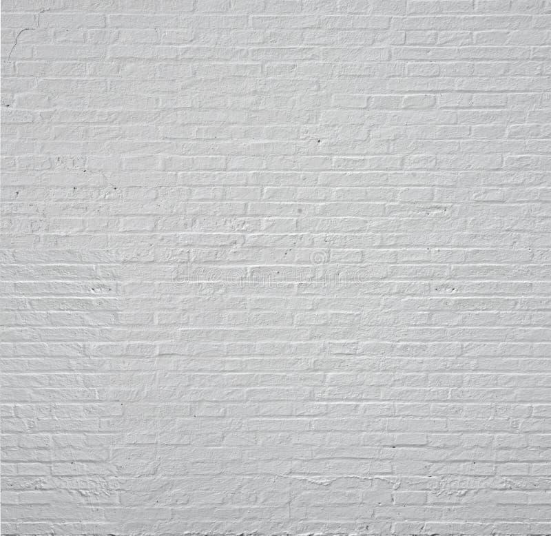 Witte bakstenen muur met naadloos, achtergrond stock illustratie