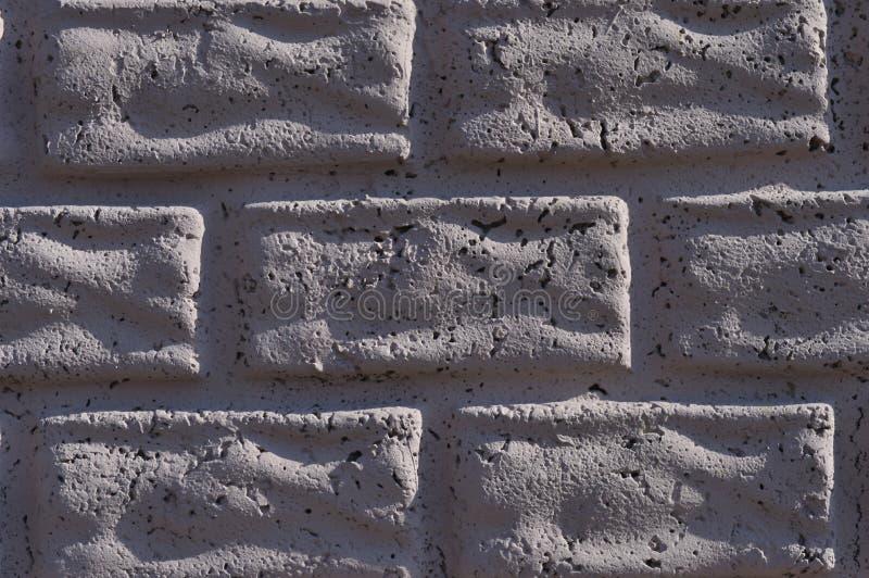 Witte bakstenen muur voor gebruik in ontwerp royalty-vrije stock afbeeldingen
