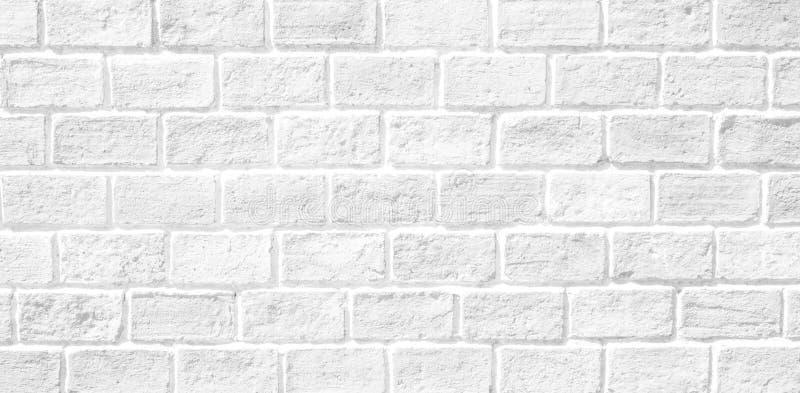 Witte bakstenen muurtextuur royalty-vrije stock foto
