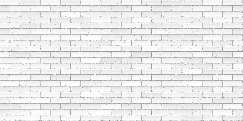 Witte bakstenen muurtextuur vector illustratie