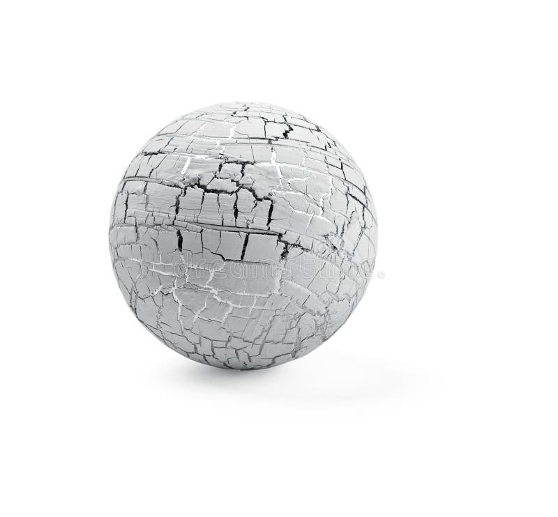 Witte bal royalty-vrije stock afbeelding