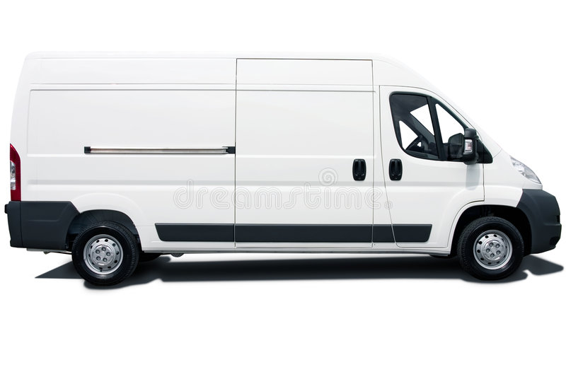 Witte bestelwagen