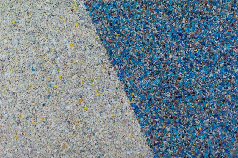Witte blauwe achtergrond van steenspaanders stock afbeelding