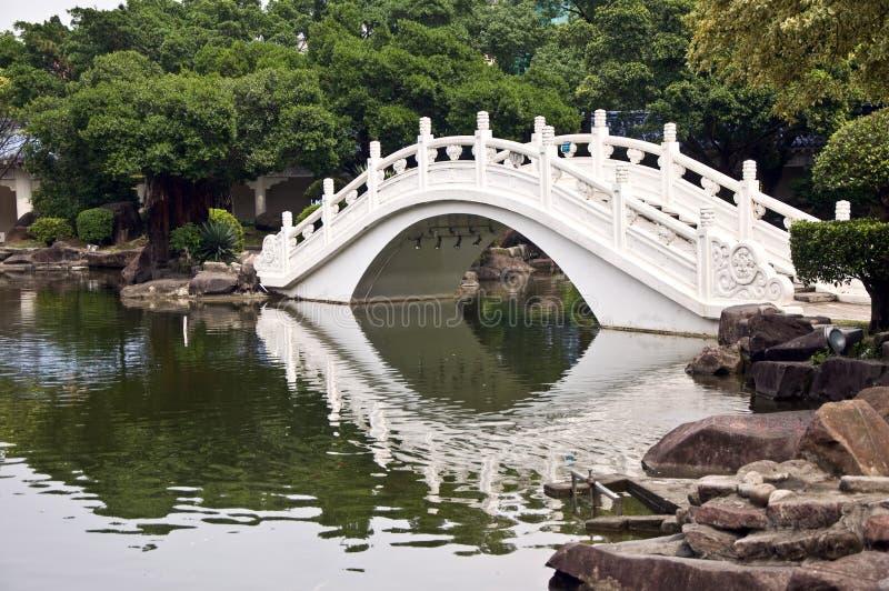 Witte Brug, Taiwan stock foto's
