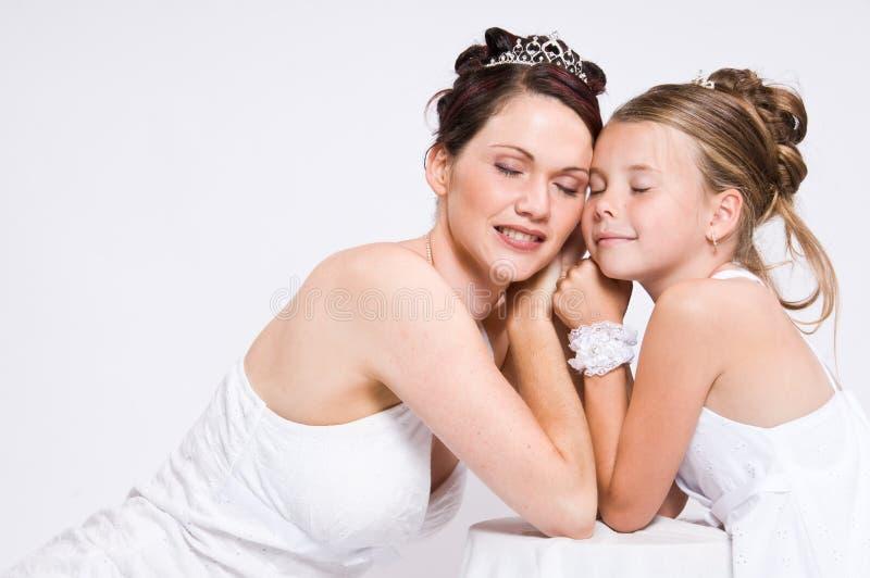 Witte Bruid royalty-vrije stock fotografie