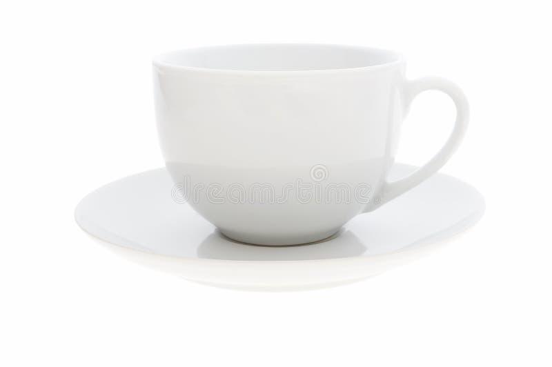 Witte coffekop royalty-vrije stock foto