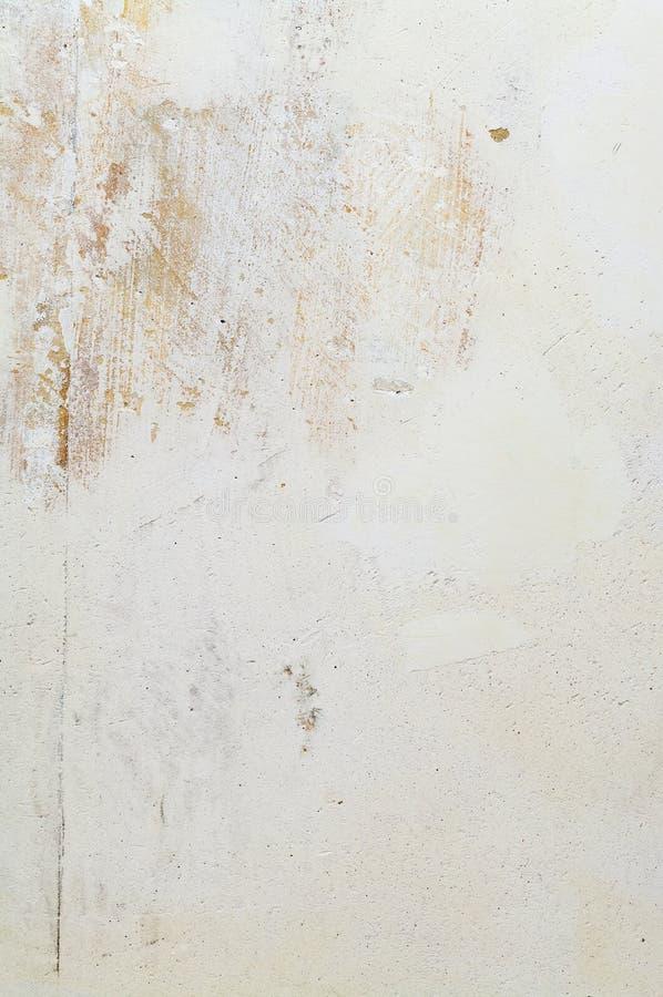 Witte concrete muur met pleister royalty-vrije stock fotografie
