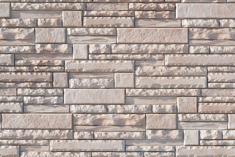 Witte de bakstenen muurachtergrond van het stapelcement royalty-vrije stock afbeeldingen