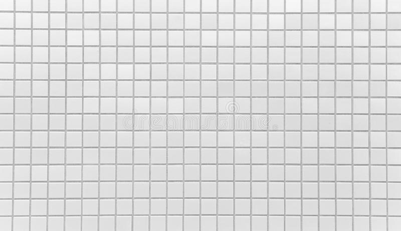 Witte de muurtextuur en achtergrond van de baksteentegel stock foto's