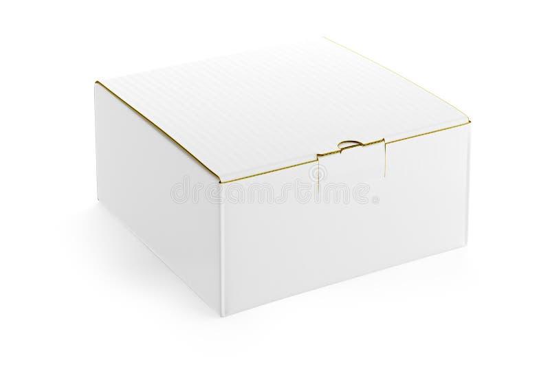 Witte doos. vector illustratie