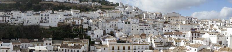 Witte dorpen van de provincie van Cadiz, Setenil de las Bodegas royalty-vrije stock afbeelding