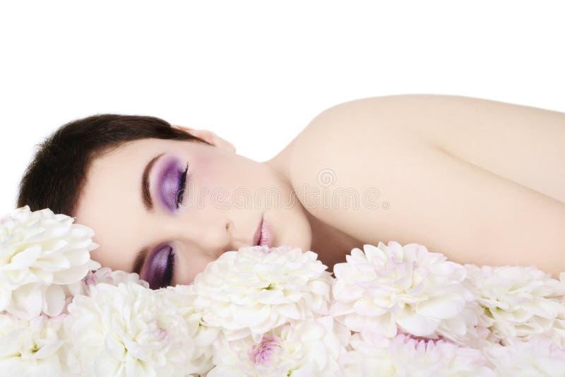 Witte droom stock afbeeldingen