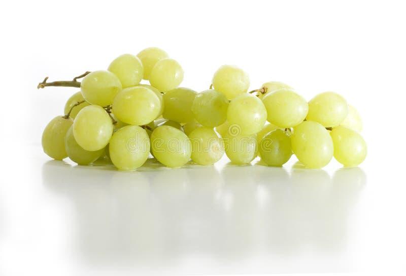 Witte Druiven royalty-vrije stock afbeelding