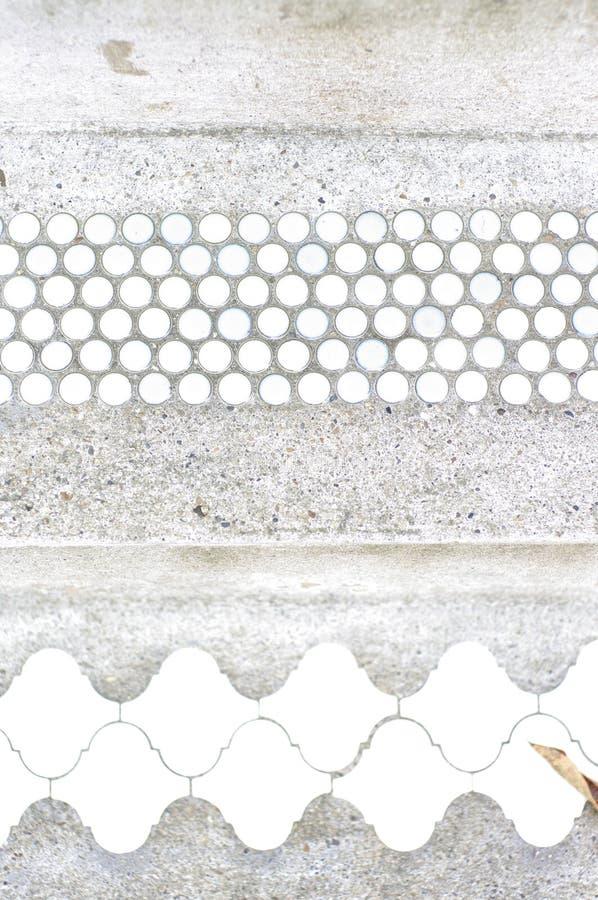 Download Witte En Blauwe Uitstekende Tegels Stock Foto - Afbeelding bestaande uit punt, blauw: 39103808