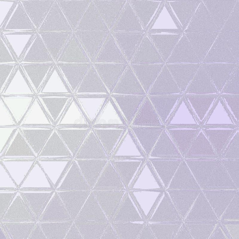 Witte en grijze achtergrond met abstracte driehoeksvormen en hoeken royalty-vrije stock afbeelding