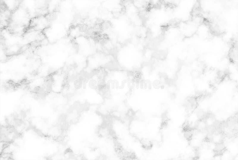 Witte en grijze wolken marmeren textuur stock afbeeldingen