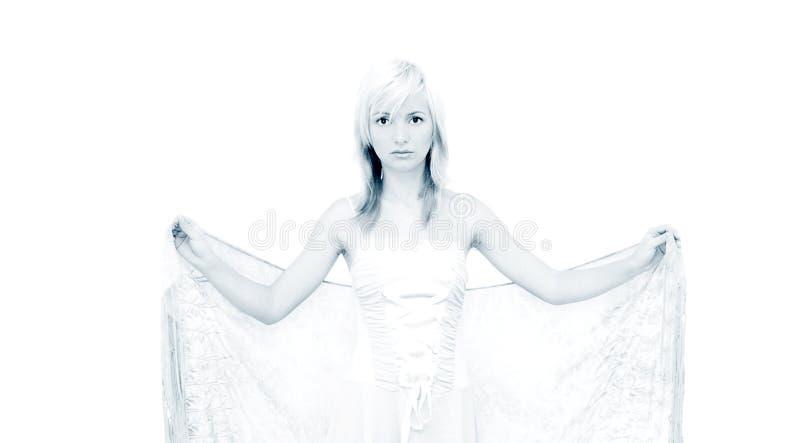Witte engel stock foto's