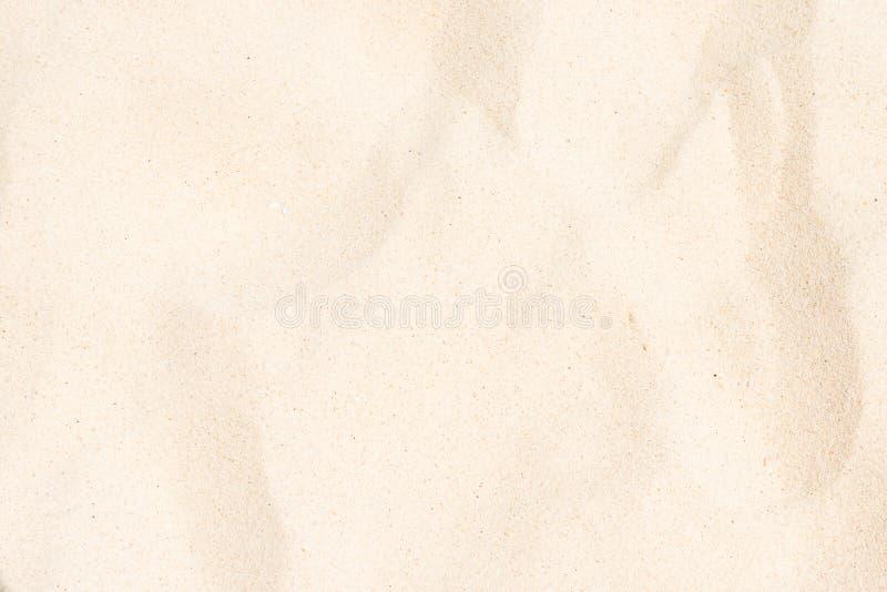 Witte fijne zandtextuur stock fotografie