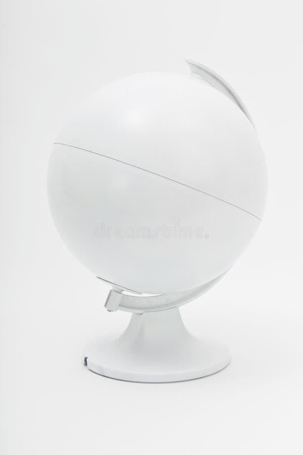 Witte geïsoleerde_ bol stock afbeeldingen