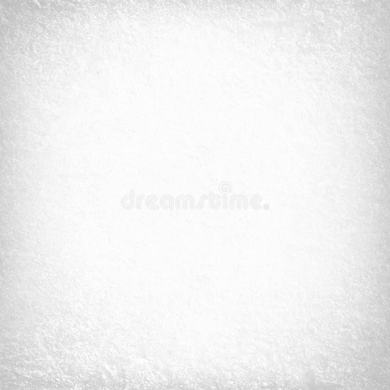 Witte gevoelige de textuurachtergrond van de pleistermuur stock illustratie
