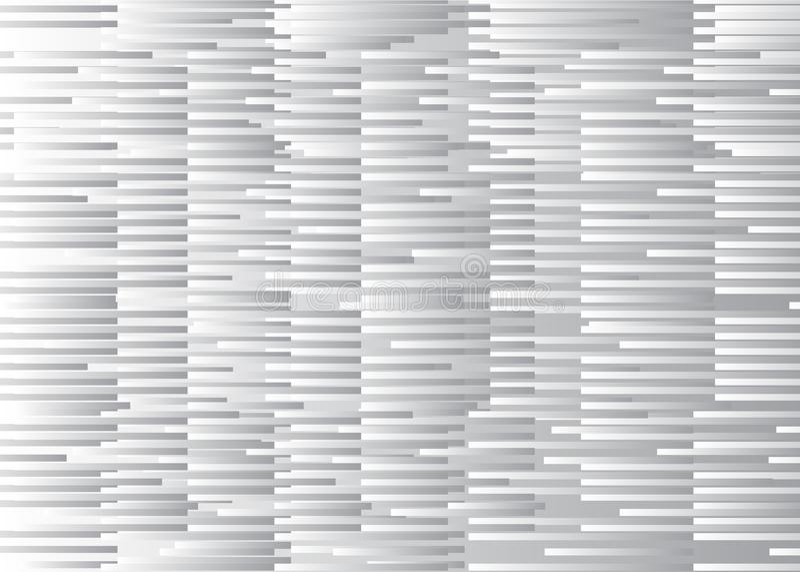 Witte glitch achtergrond vector illustratie