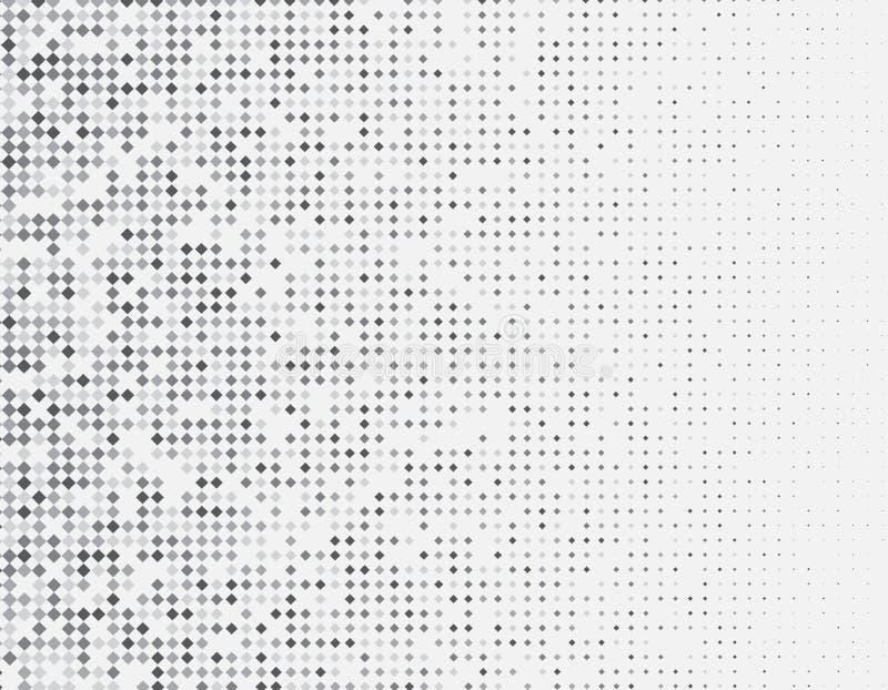 Witte grijze Abstracte ontwerpachtergrond met het ontwerp van de diamantvorm stock illustratie