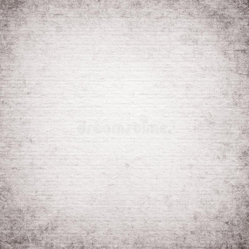 Witte, grijze gerecycleerde uitstekende vierkante notadocument textuur, lichte achtergrond royalty-vrije stock afbeelding