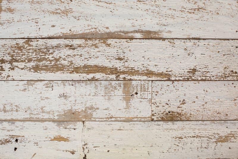 Witte/grijze houten textuurachtergrond met natuurlijke patronen Vloer stock foto