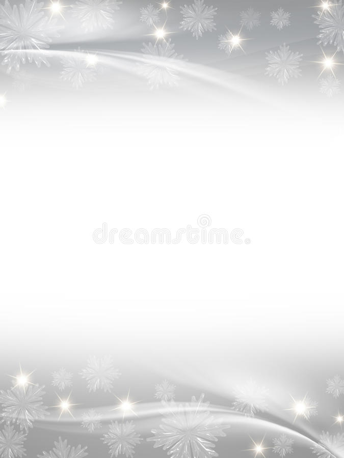 Witte grijze Kerstmisachtergrond stock illustratie