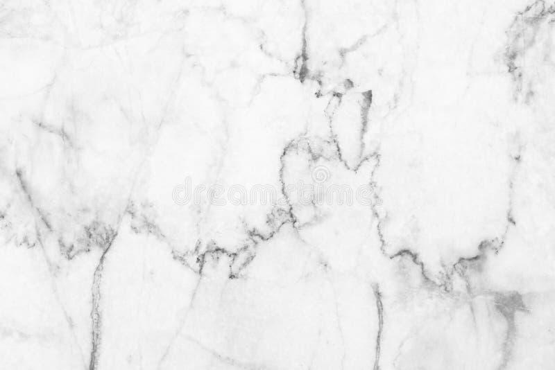 Witte (grijze) marmeren textuur, gedetailleerde die structuur van marmer in natuurlijk voor achtergrond wordt gevormd en ontwerp stock foto