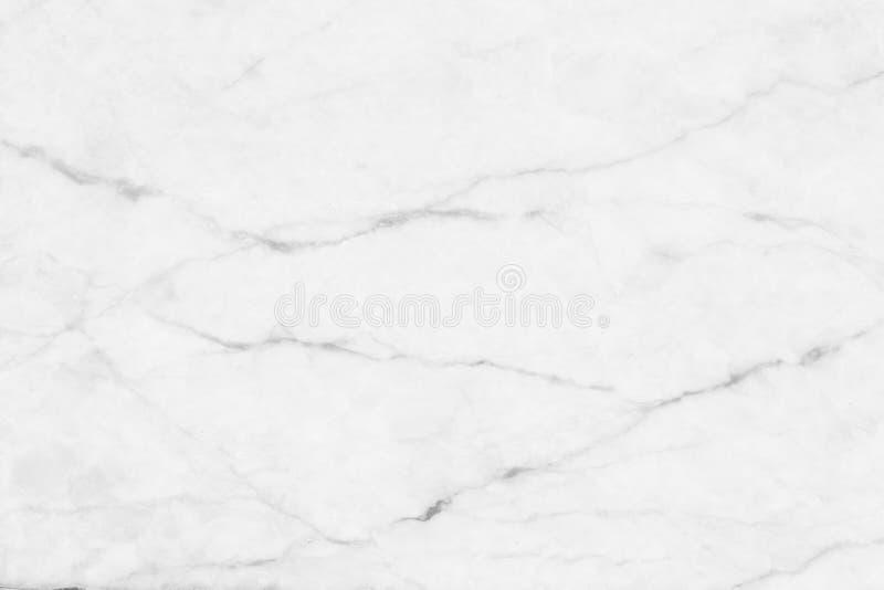 Witte (grijze) marmeren textuur, gedetailleerde die structuur van marmer in natuurlijk voor achtergrond wordt gevormd en ontwerp royalty-vrije stock foto