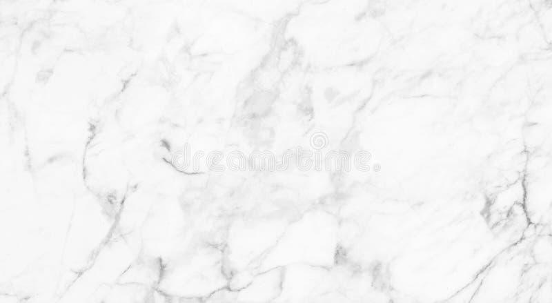 Witte (grijze) marmeren textuur, gedetailleerde die structuur van marmer in natuurlijk voor achtergrond wordt gevormd en ontwerp royalty-vrije stock fotografie