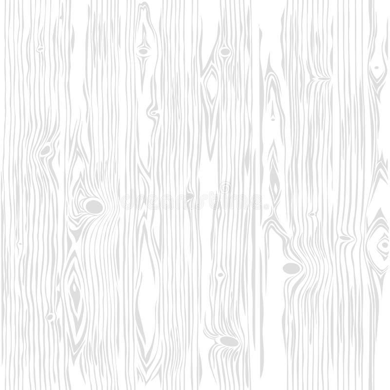 Witte Houten Naadloze Verticaal Als achtergrond vector illustratie