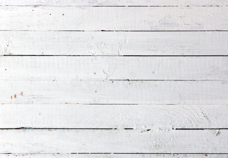 Witte houten plank stock fotografie