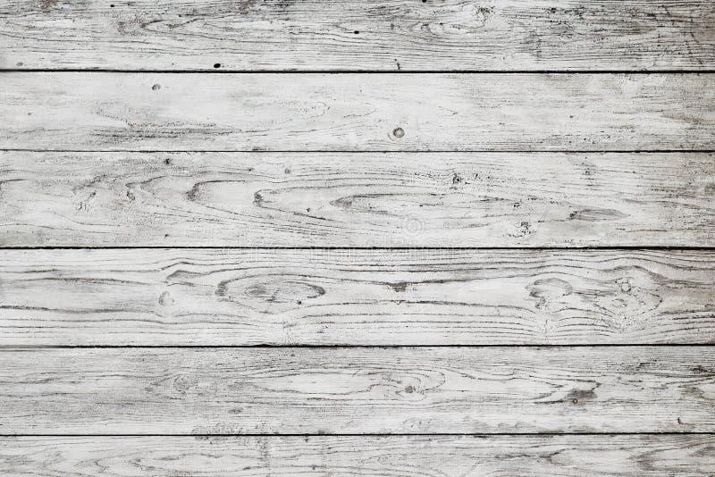 Witte houten planken stock foto