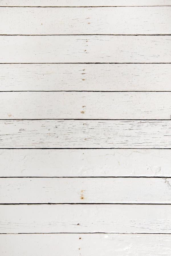 Witte houten raad stock fotografie