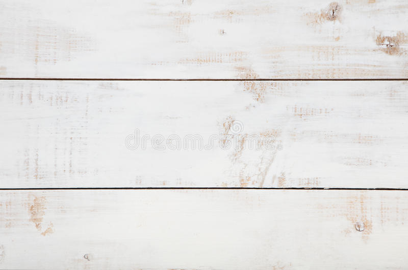 Witte houten textuurachtergrond met hoge resolutie De hoogste ruimte van het meningsexemplaar stock fotografie