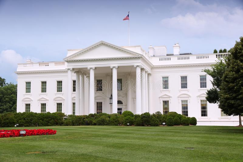 Witte Huis stock foto