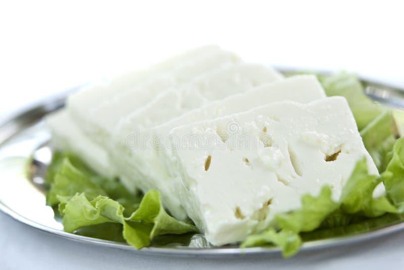 Witte kaas stock afbeeldingen