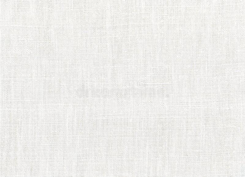 Witte katoenen stof royalty-vrije stock afbeeldingen