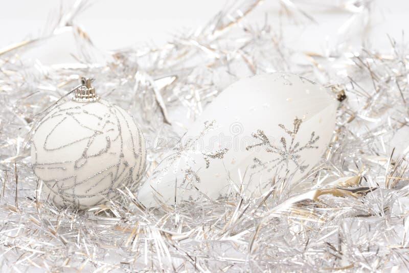 Witte Kerstmis royalty-vrije stock fotografie