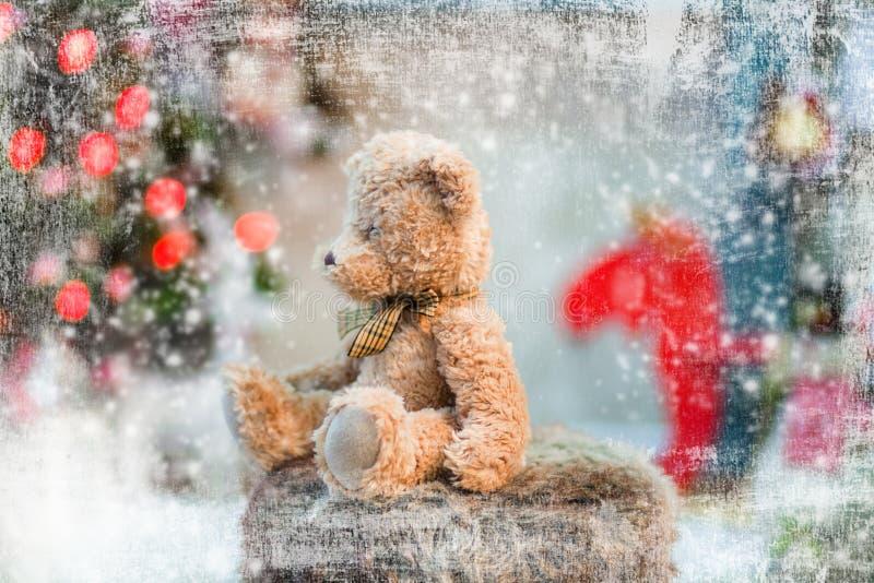Witte Kerstmis stock fotografie